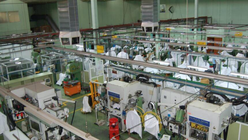 Limpieza industrial en Madrid