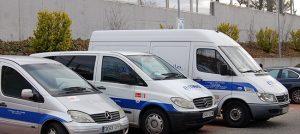 Vehículos empresa Emsal servicios