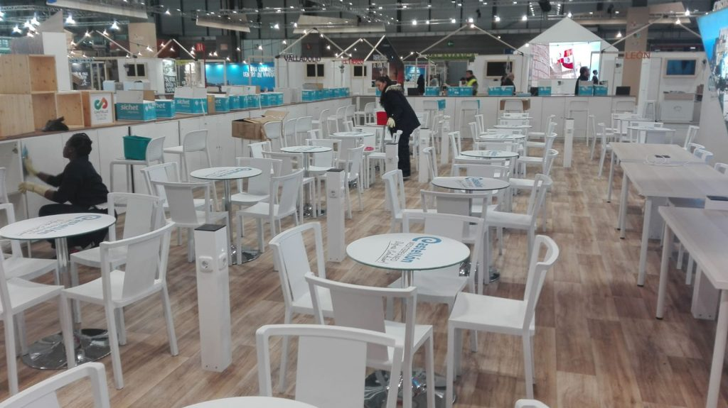 Empresa de limpieza de stands Ifema Fitur 2020
